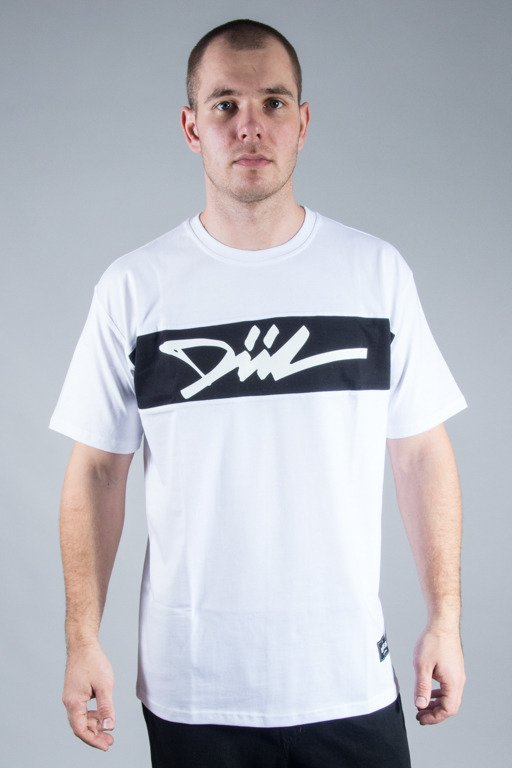 DIIL T-SHIRT CUT WHITE-BLACK