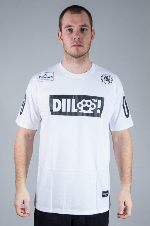 DIIL T-SHIRT DIIL FULL LOGO WHITE