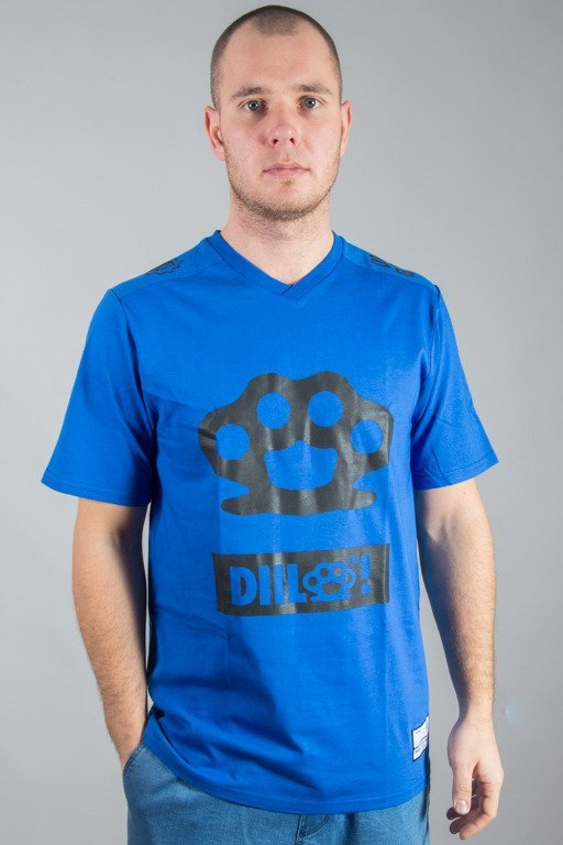 DIIL T-SHIRT KNUCKLE BLUE