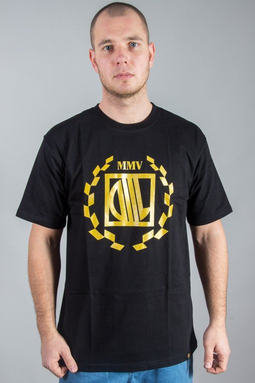 DIIL T-SHIRT LAUR BLACK-GOLD