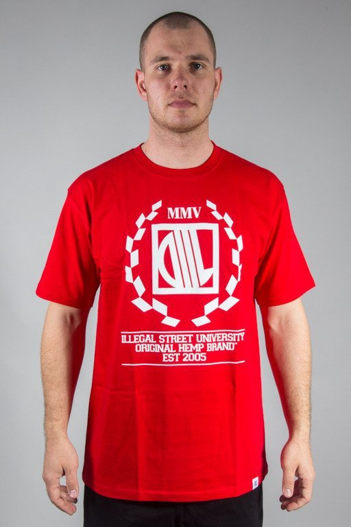DIIL T-SHIRT LAUR RED