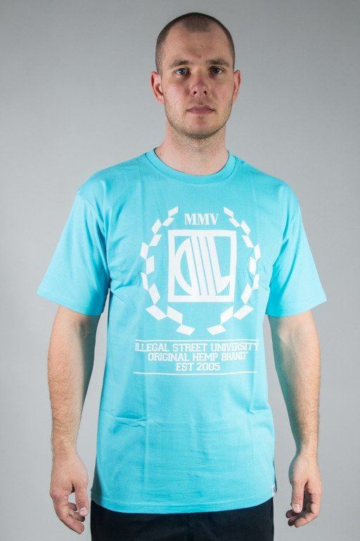 DIIL T-SHIRT LAUR TURQUOISE