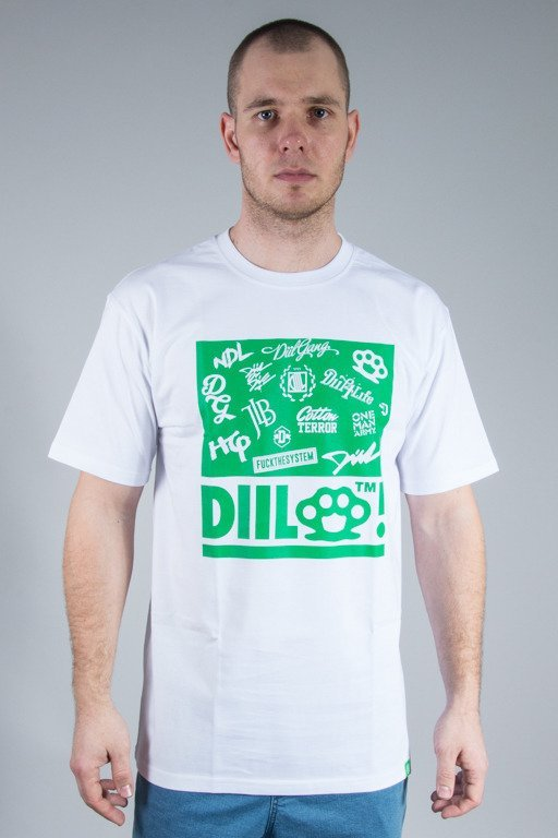 DIIL T-SHIRT MISSED TWO WHITE