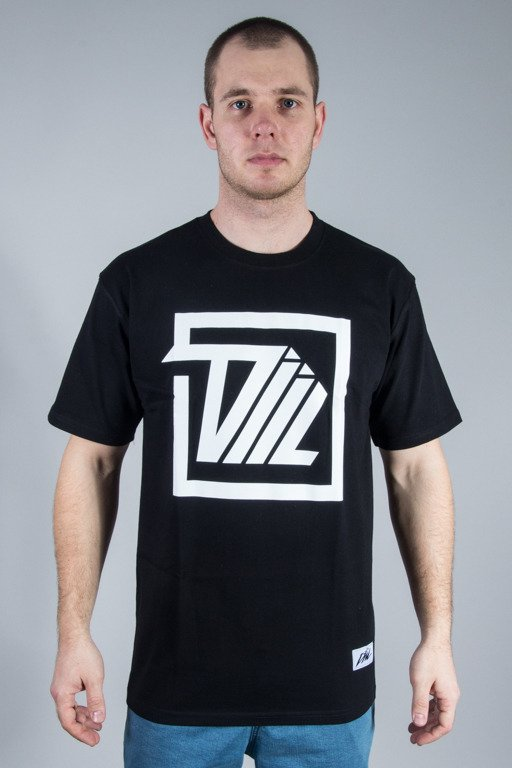 DIIL T-SHIRT NEXT LEVEL SQUARE BLACK