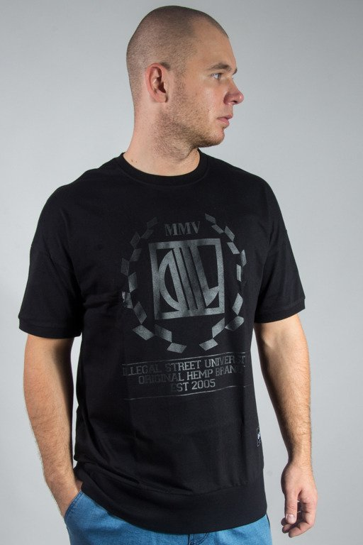 DIIL T-SHIRT RIBBSTER BLACK