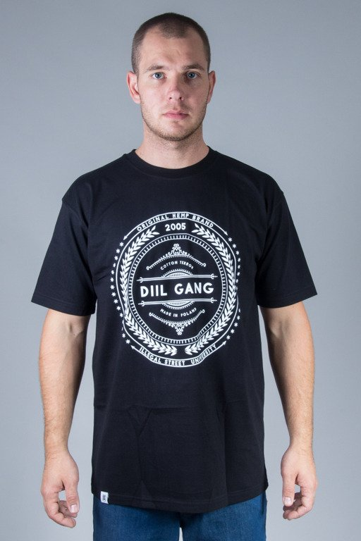 DIIL T-SHIRT ROPE BLACK