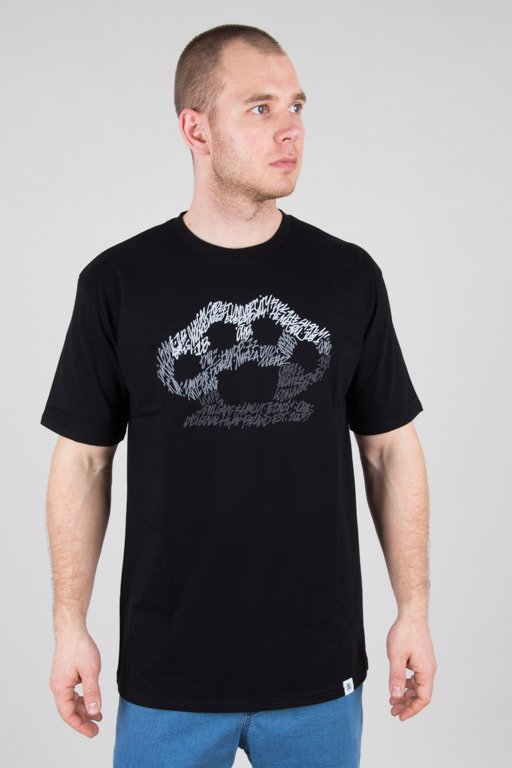 DIIL T-SHIRT SCRAWL BLACK-GREY