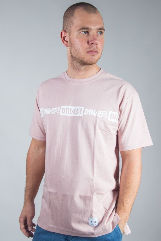DIIL T-SHIRT SEWED POCKET PINK