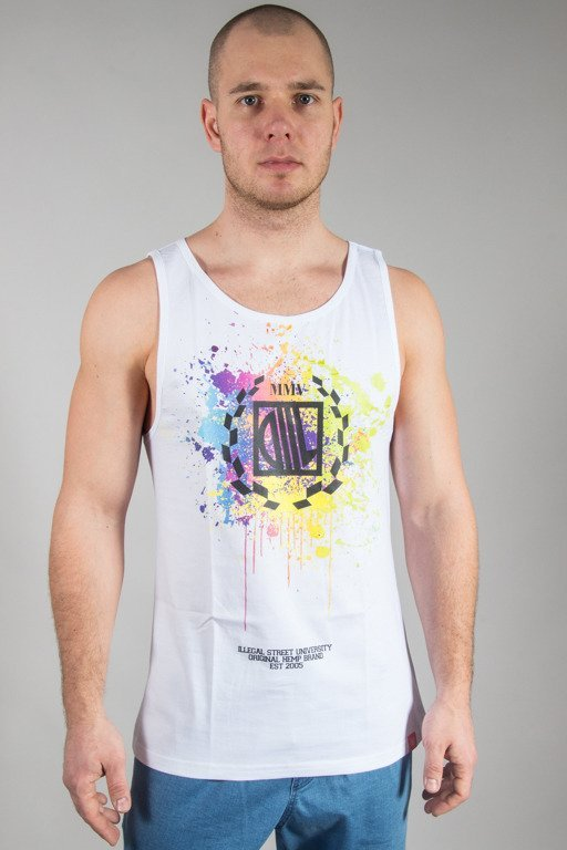 DIIL TANK TOP PAINT WHITE