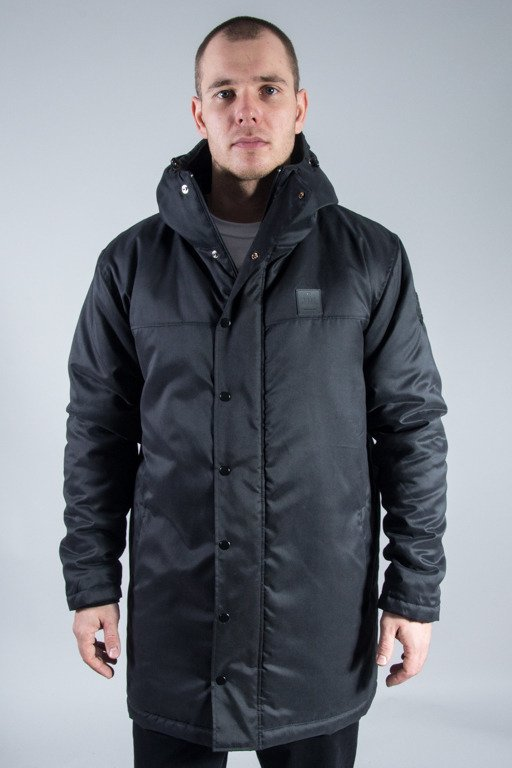 DIIL WINTER JACKET LONG ALL BLACK