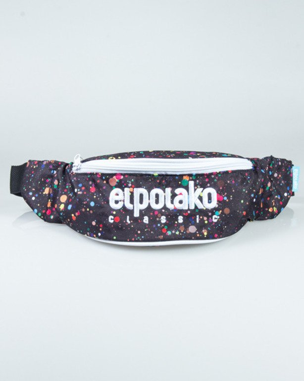 EL POALKO STREETBAG PAINT DOT BLACK