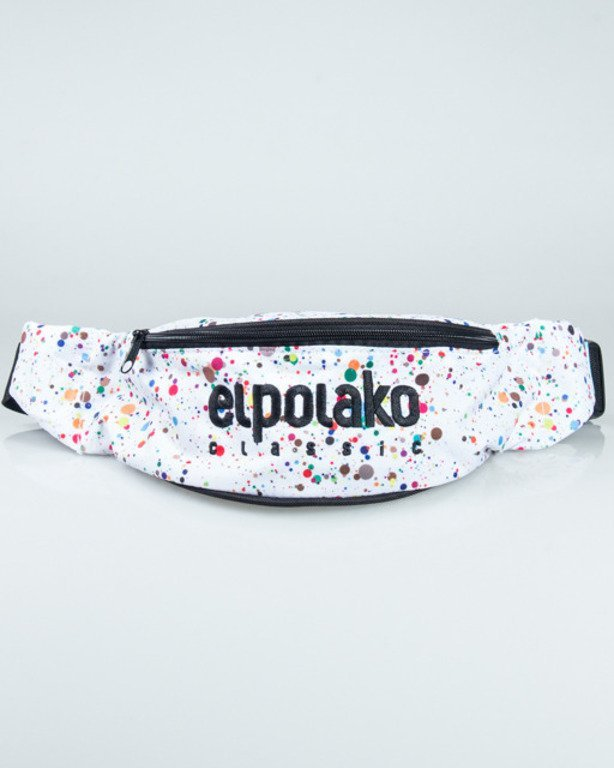 EL POALKO STREETBAG PAINT DOT WHITE