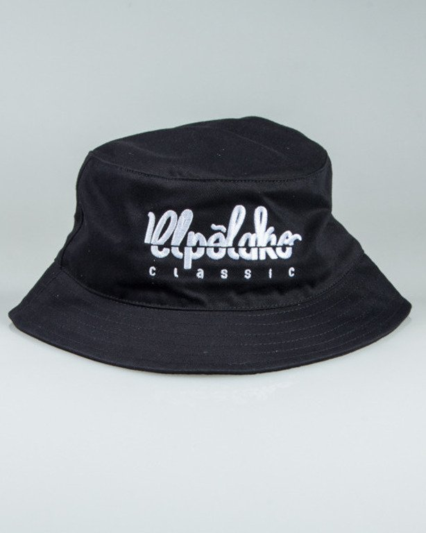 EL POLAKO BUCKET HAT LOGO CUT BLACK