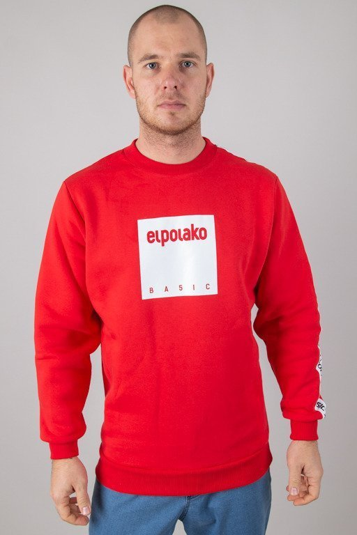 EL POLAKO CREWNECK BOX STYLE RED