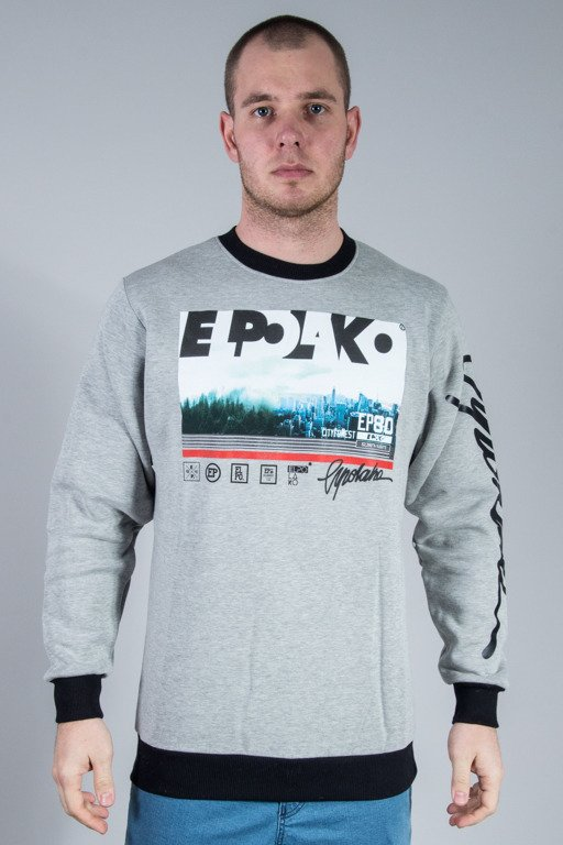 EL POLAKO CREWNECK CITY FOREST MELANGE