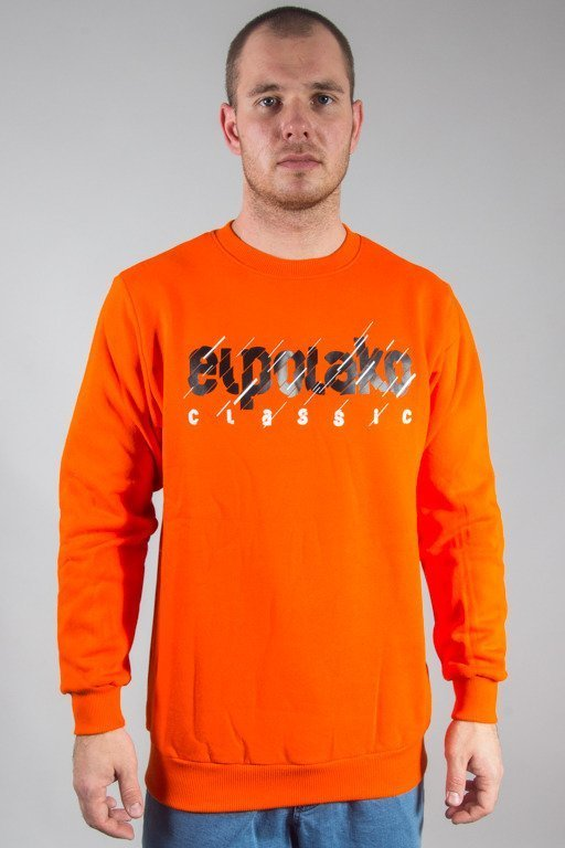 EL POLAKO CREWNECK CUT CLASSIC ORANGE