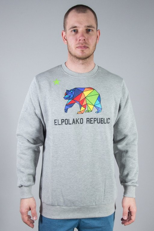 EL POLAKO CREWNECK EP REPUBLIC GREY