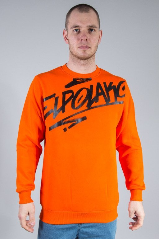 EL POLAKO CREWNECK LOGSON ORANGE