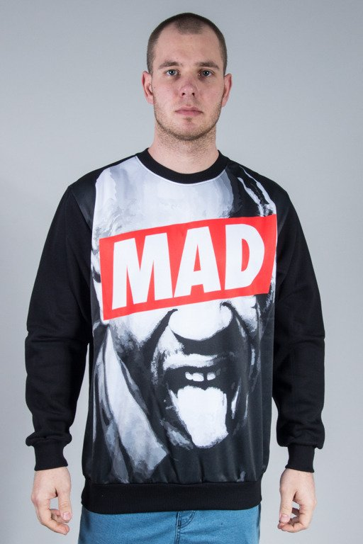 EL POLAKO CREWNECK MAD BLACK