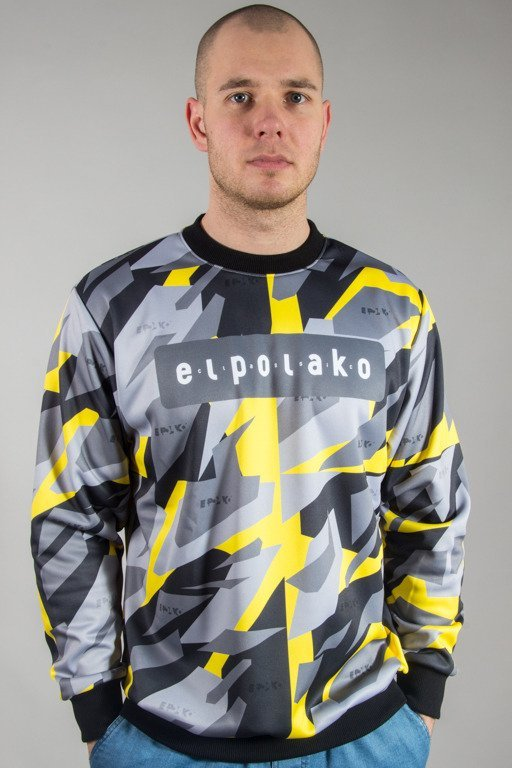 EL POLAKO CREWNECK PREMIUM TRIANGL MORO YELLOW