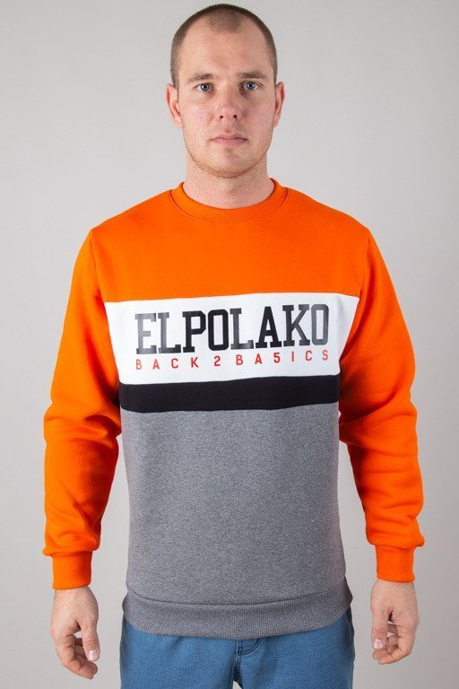 EL POLAKO CREWNECK SHOOL ORANGE