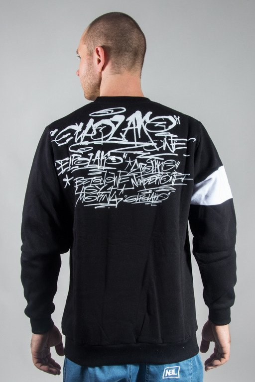 EL POLAKO CREWNECK TAGS BLM BLACK