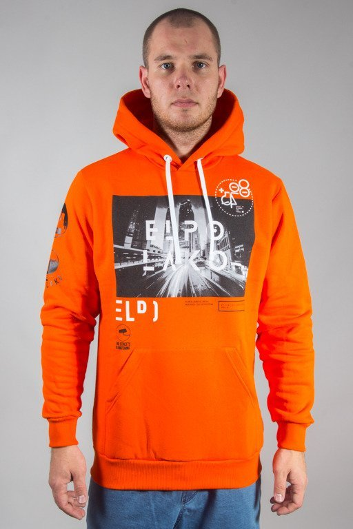 EL POLAKO HOODIE EP CITY ORANGE
