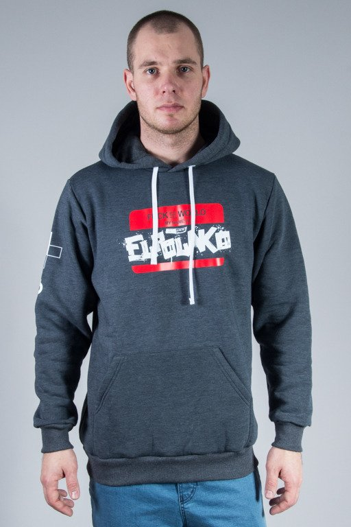 EL POLAKO HOODIE HELLO MY NAME IS GRAPHIT