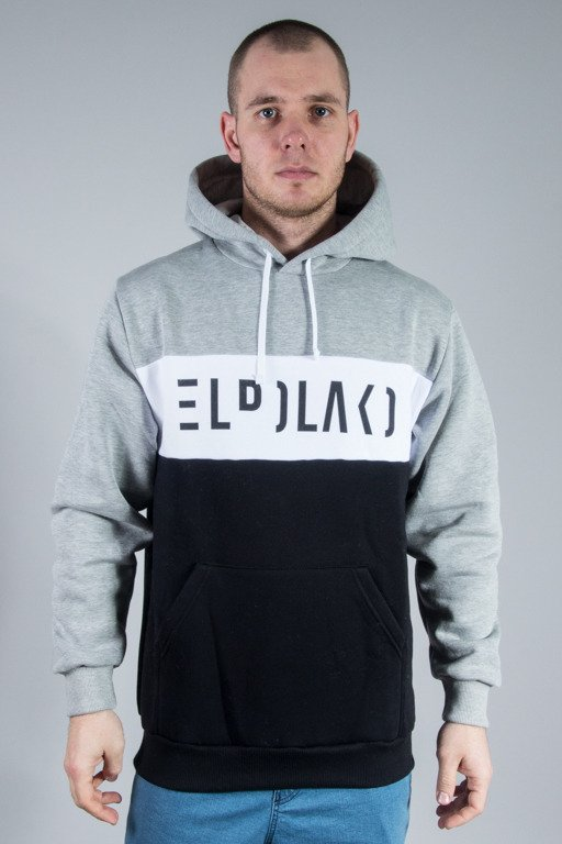 EL POLAKO HOODIE PREMIUM CUT 3COLORS BLACK