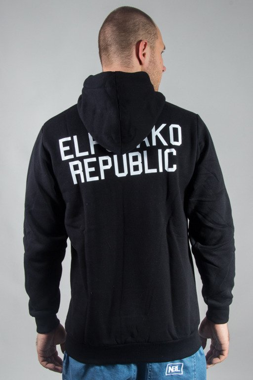 EL POLAKO HOODIE REPUBLIC MINI BLACK