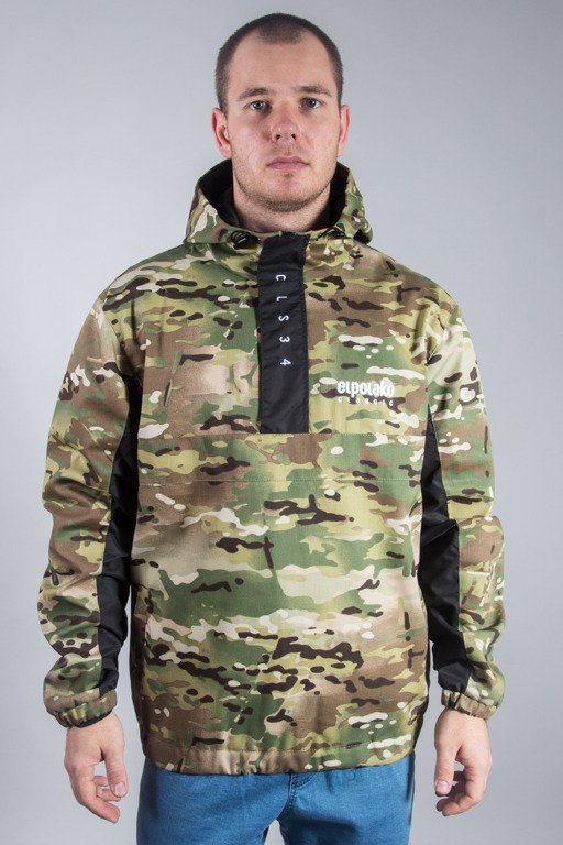 EL POLAKO JACKET KANGURKA DOUBLE CAMO