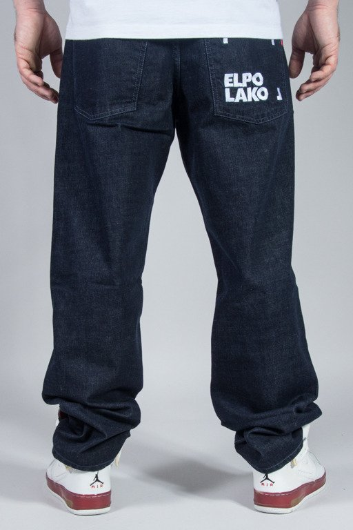 EL POLAKO JEANS REGULAR ELPO BLM DARK