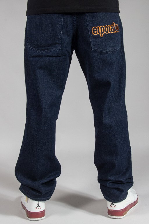EL POLAKO JEANS REGULAR OUTLINE DARK