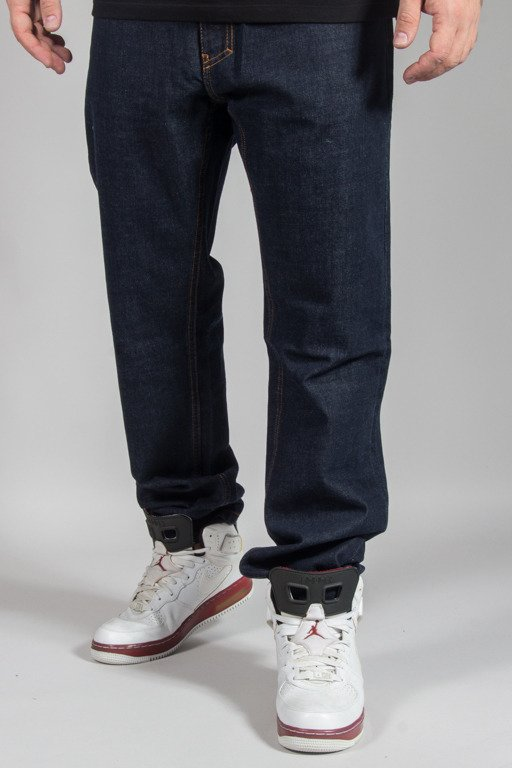 EL POLAKO JEANS SLIM SPLASH TAGS DARK