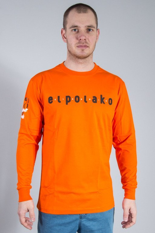 EL POLAKO LONGSLEEVE CLASSIC ORANGE