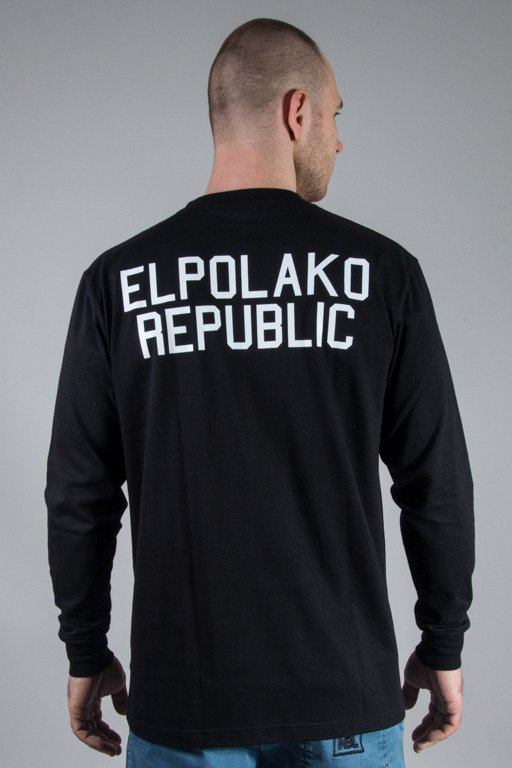 EL POLAKO LONGSLEEVE MINI REPUBLIC BLACK