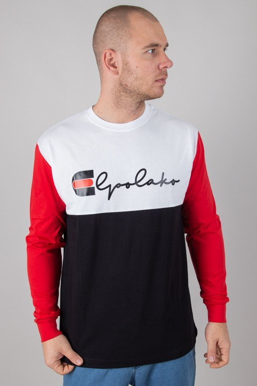 EL POLAKO LONGSLEEVE MISTRZ BLACK-RED