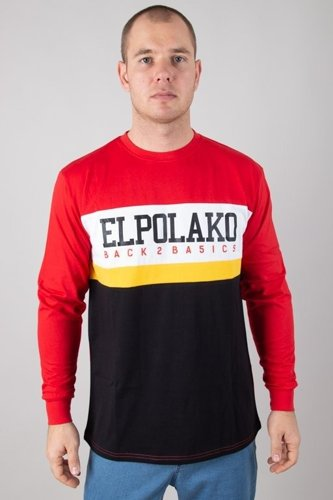 EL POLAKO LONGSLEEVE SCHOOL RED