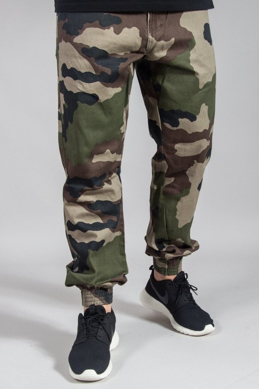 EL POLAKO PANTS CHINO JOGGER REGULAR MORO CLASSIC CAMO