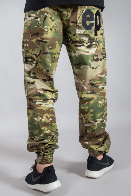 EL POLAKO PANTS CHINO JOGGER REGULAR MORO EP US CAMO