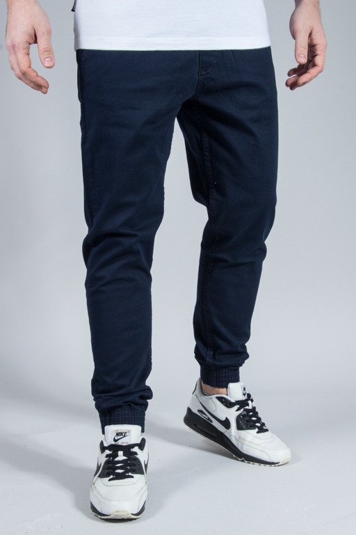 EL POLAKO PANTS CHINO JOGGER SLIM CLASSIC NAVY