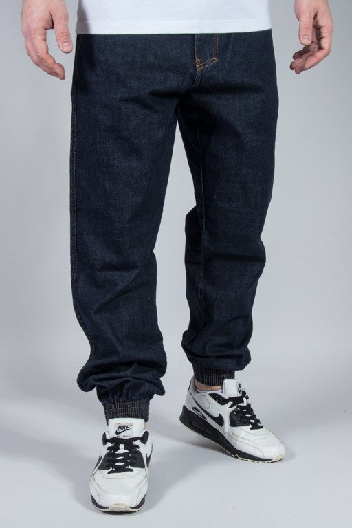 EL POLAKO PANTS JEANS JOGGER CUT DARK