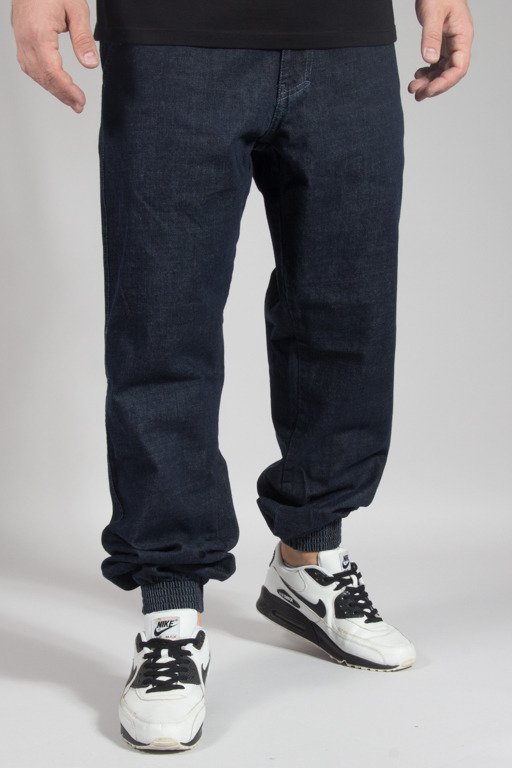 EL POLAKO PANTS JEANS JOGGER REGULAR GOTYK DARK