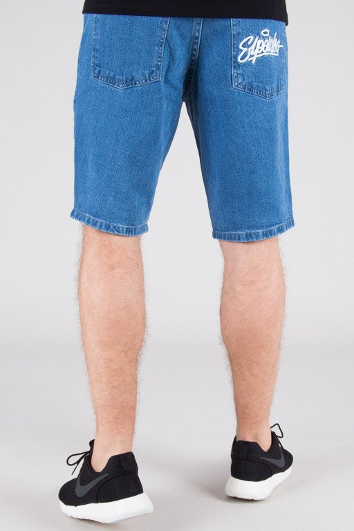 EL POLAKO SHORTS JEANS HANDWRITTEN LIGHT