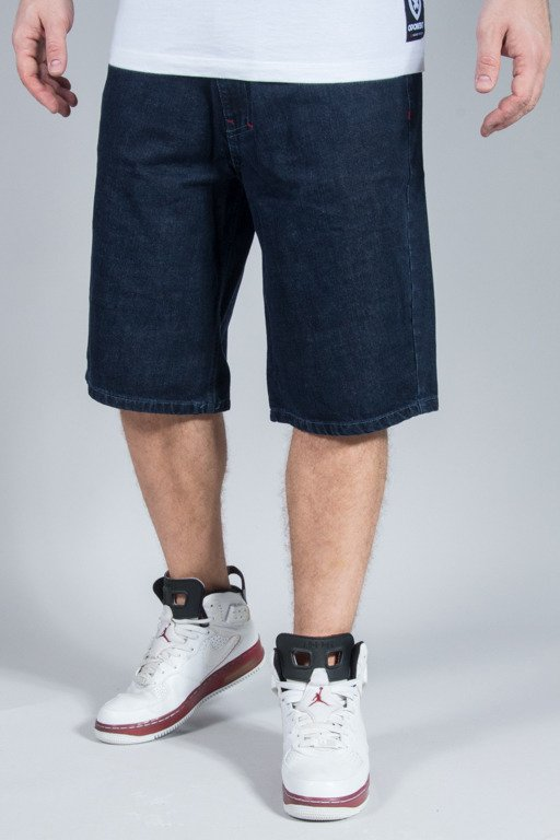EL POLAKO SHORTS JEANS LOGO DARK