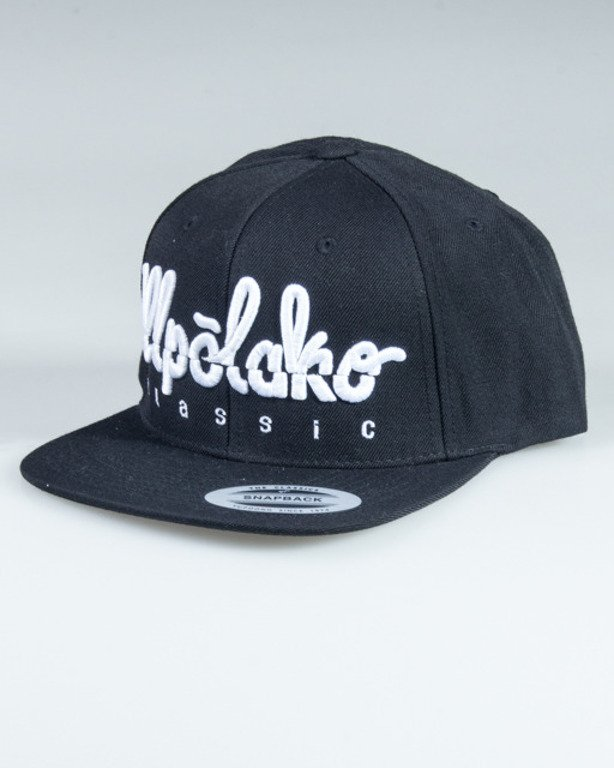 EL POLAKO SNAPBACK LOGO CUT BLACK
