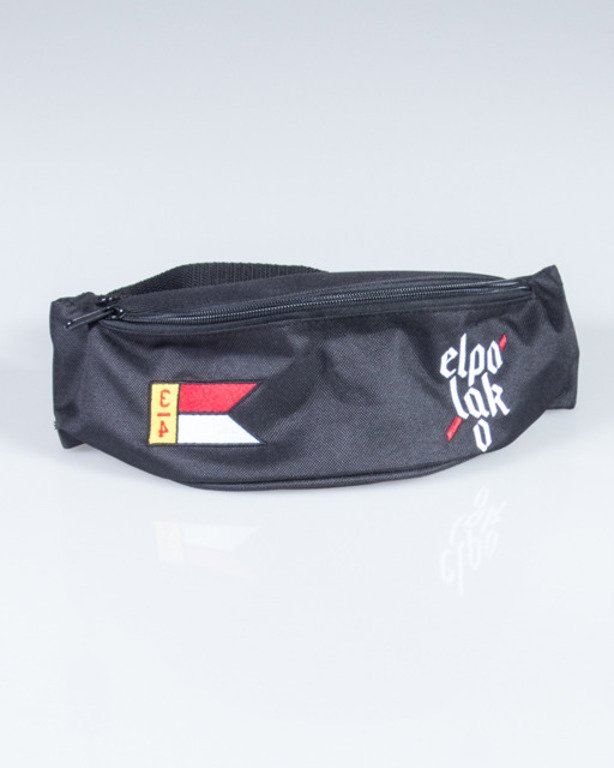 EL POLAKO STREETBAG FLAG BLACK