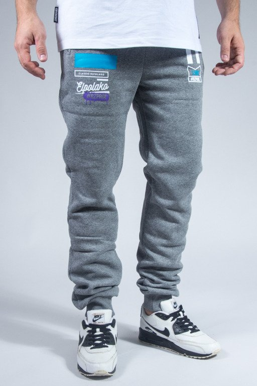 EL POLAKO SWEATPANTS AVANGARDA GREY