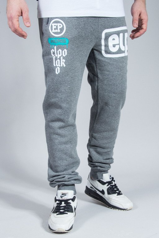 EL POLAKO SWEATPANTS BELOW GREY