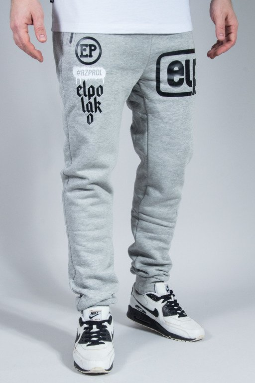 EL POLAKO SWEATPANTS BELOW MELANGE
